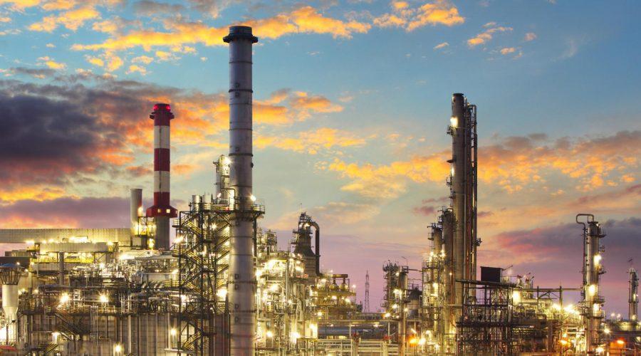 Oil-Refinery-Dusk